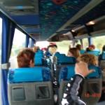 Met de bus naar het N.K.